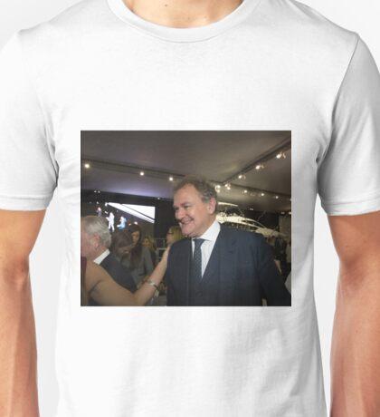 Hugh Bonneville British actor from Downton Abbey  Unisex T-Shirt