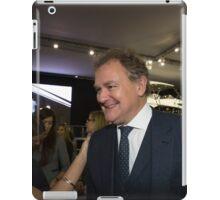 Hugh Bonneville British actor from Downton Abbey  iPad Case/Skin