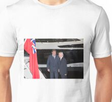 Hugh Bonneville British actor  from Downton Abbey  Unisex T-Shirt