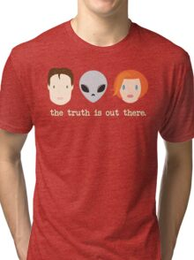 The Truth is Out There. Tri-blend T-Shirt