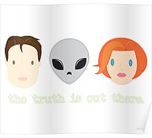 The Truth is Out There. Poster