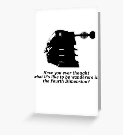 Doctor #1 (Doctor Who) Greeting Card