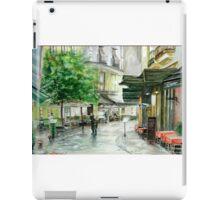 French Street Scene iPad Case/Skin