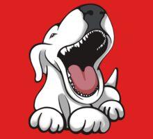 Laughing Bull Terrier Baby Tee