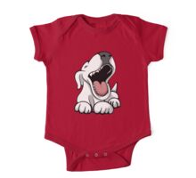 Laughing Bull Terrier One Piece - Short Sleeve