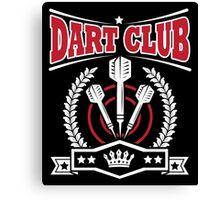 Dart Club Canvas Print