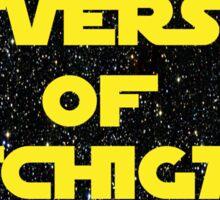 University of Michigan Star Wars Sticker