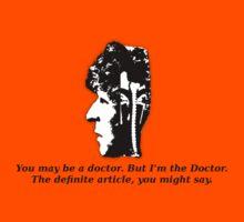Doctor #4 (Doctor Who) Kids Tee