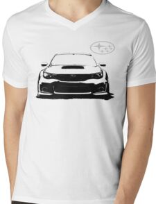 Subaru WRX STi Mens V-Neck T-Shirt