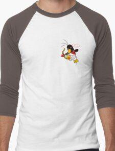 Hippo the Angel of Love Men's Baseball ¾ T-Shirt