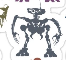 Mondojunkobots Sticker