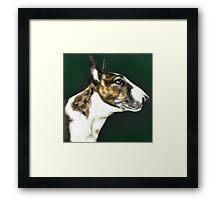 EBT Pet Portrait Framed Print