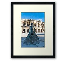 BullFighter of Nimes Framed Print