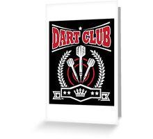 Dart Club Greeting Card