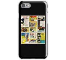 Vintage Comic Ads iPhone Case/Skin