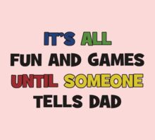 Fun and Games with Dad One Piece - Short Sleeve
