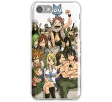 fairy tail members iPhone Case/Skin