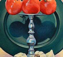 Tomato and Garlic by Kenneth Cobb