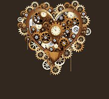 Steampunk Heart Love Unisex T-Shirt