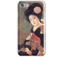 Vintage poster - Sakura Beer iPhone Case/Skin