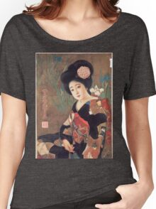 Vintage poster - Sakura Beer Women's Relaxed Fit T-Shirt