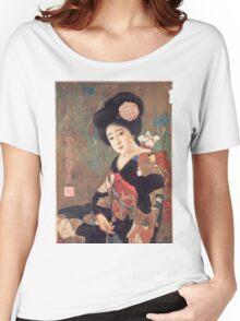 Vintage poster - Sakura Beer Women's Relaxed Fit T-Shirt