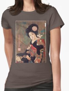 Vintage poster - Sakura Beer Womens Fitted T-Shirt
