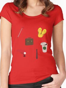 MiniLadd Icons Women's Fitted Scoop T-Shirt