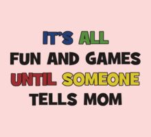 Fun and Games with Mom One Piece - Short Sleeve