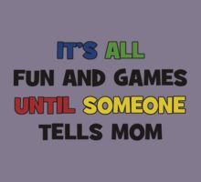 Fun and Games with Mom Kids Clothes