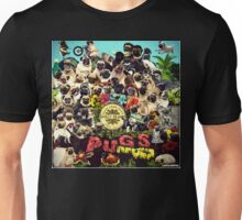 SGT PUGS LONELY HEARTS PUG BAND Unisex T-Shirt