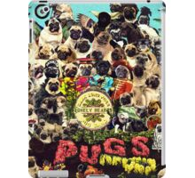 SGT PUGS LONELY HEARTS PUG BAND iPad Case/Skin