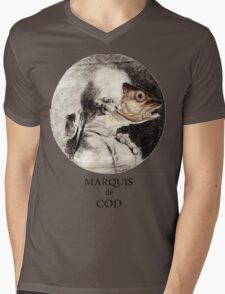 Marquis de Cod Mens V-Neck T-Shirt