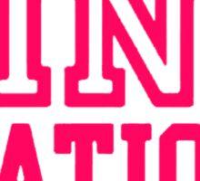 Pink Nation Sticker