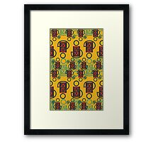 Pattern 02 Framed Print