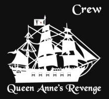 Queen Anne's Revenge One Piece - Short Sleeve