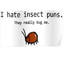 Insect Puns Poster