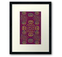 Pattern 03 Framed Print