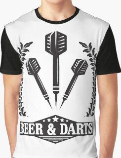 Beer & Darts Graphic T-Shirt