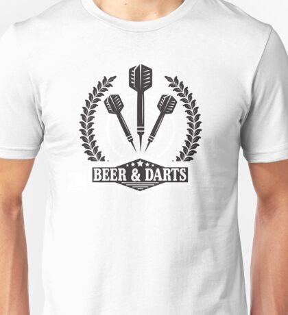 Beer & Darts Unisex T-Shirt