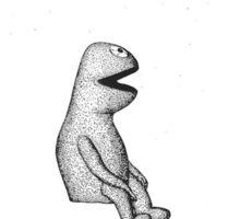 Muppet Patent Sticker