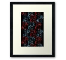 Pattern 05 Framed Print