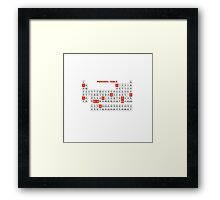 Periodic Table 2016 Framed Print