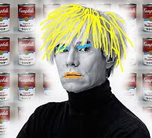 Warhol On Warhol Stolen From Warhol by Graham Geldard