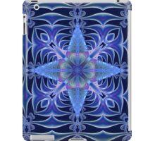 Fractal Web in Blue iPad Case/Skin