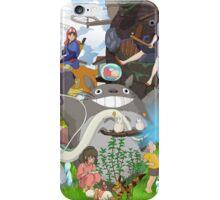 Manga Ghibli Totoro iPhone Case/Skin