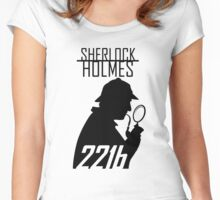Sherlock Holmes Women's Fitted Scoop T-Shirt