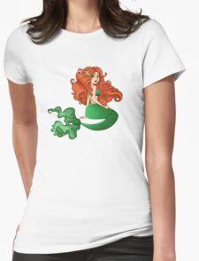 Irish Mermaid Womens Fitted T-Shirt