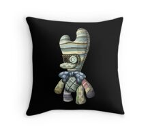 Creepy Stuffed Toy Throw Pillow