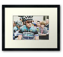 Sylvain Chavanel (Omega Pharma-Quick Step) Framed Print